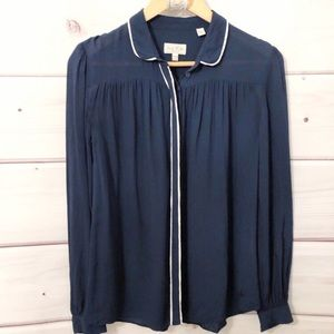 Jack Wills button down blouse